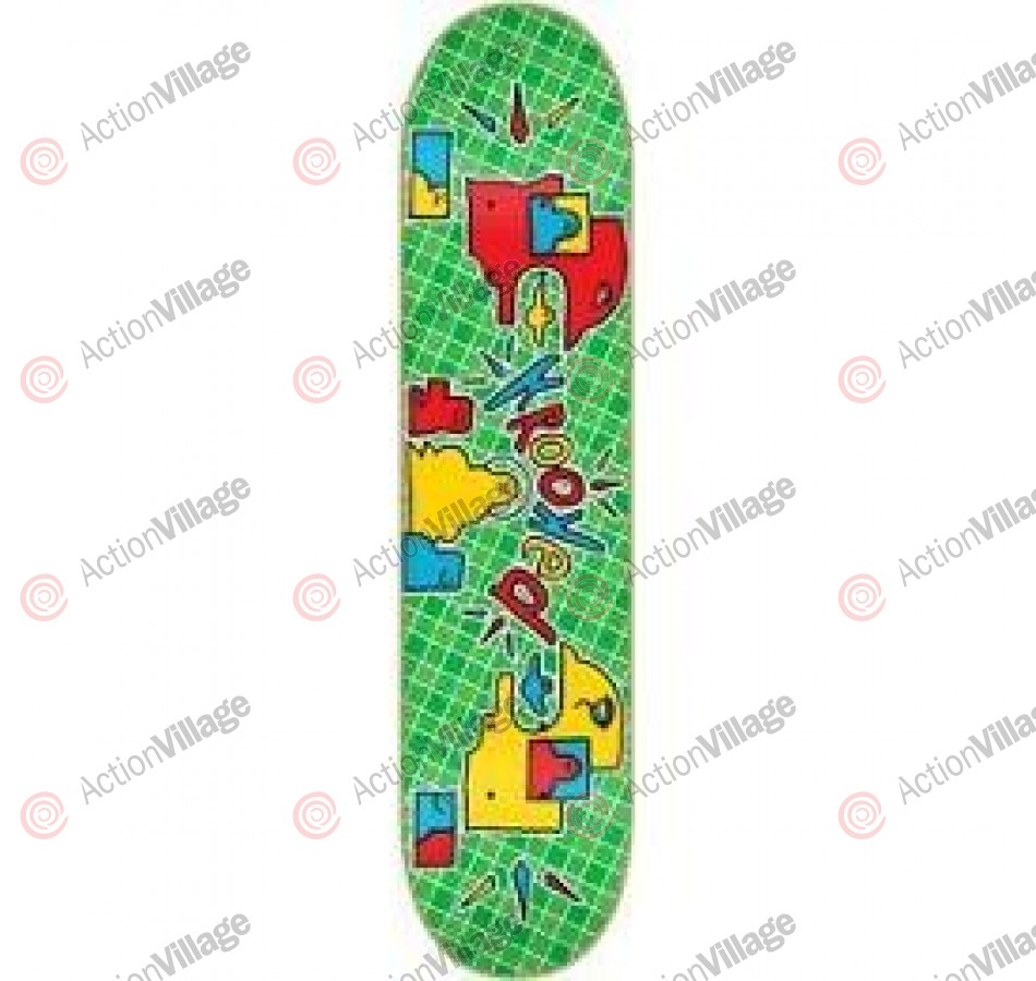 Krooked Plaidikal SM - Green - 7.9 - Skateboard Deck