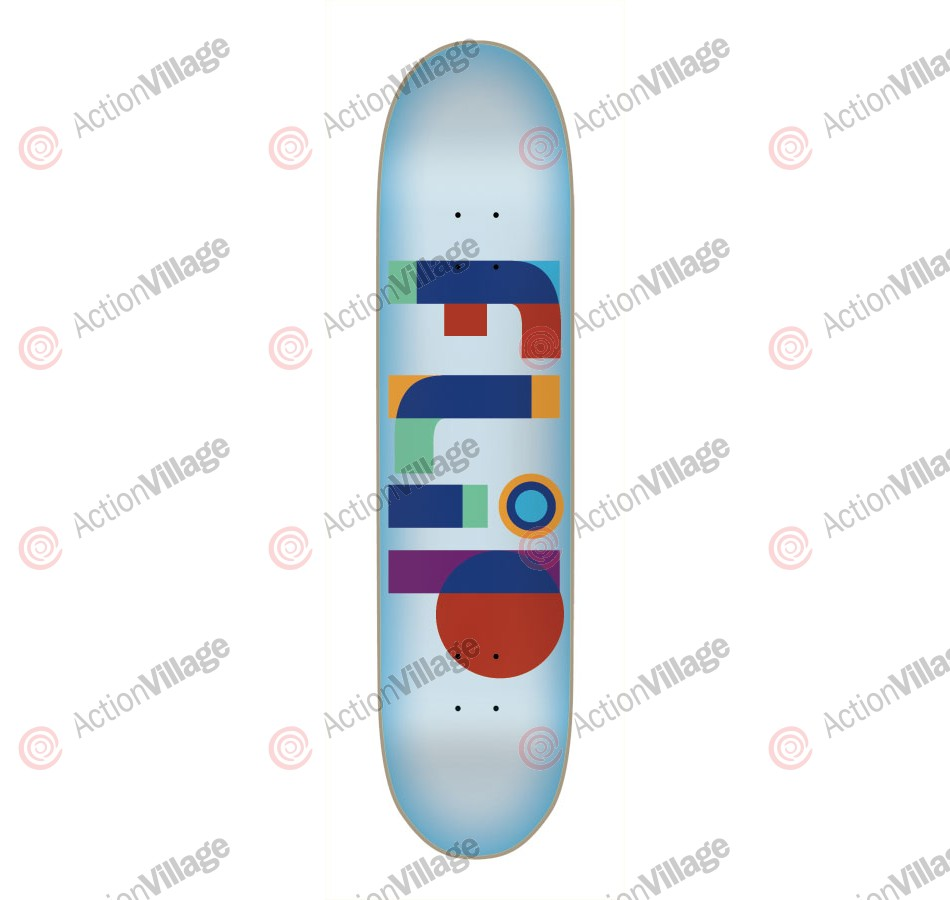 Flip Skateboards Team Transparent Deck - 32.16 in 8.29 in - Skateboard Deck