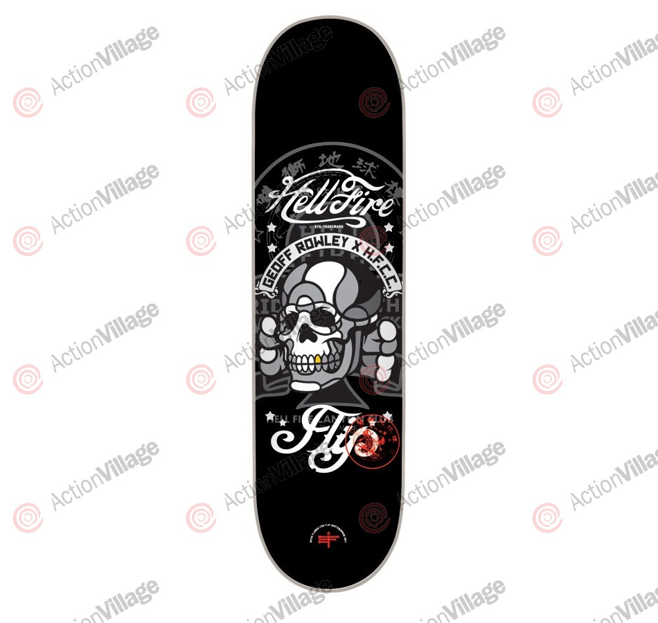 Flip Skateboards Rowley Hellfire Deck - 31.5 in 8 in