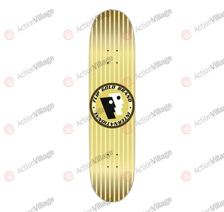 Flip Skateboards Team Gold Brand Regular Deck - 32.2 in 8 in