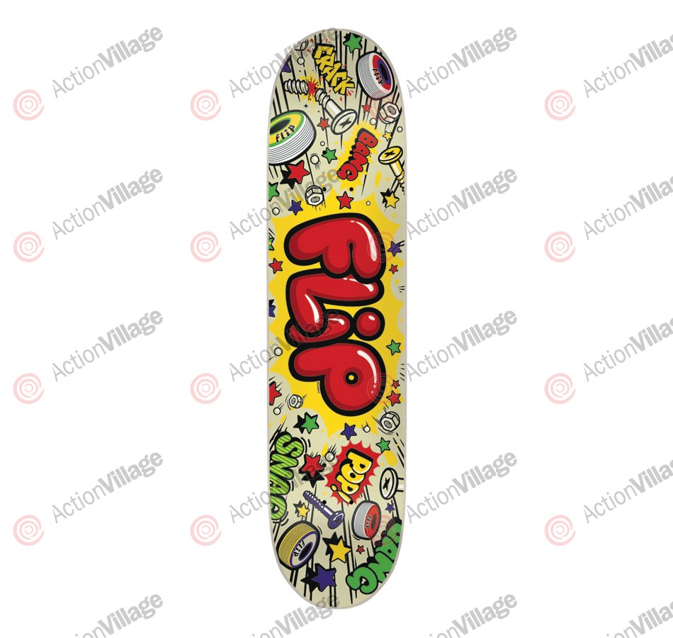 Flip Team Bang 32 in 7.88 in - Skateboard Deck