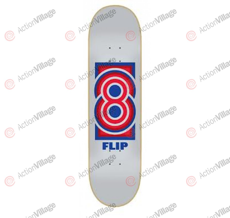 Flip Team Modern 32.2 in 8 in - Skateboard Deck