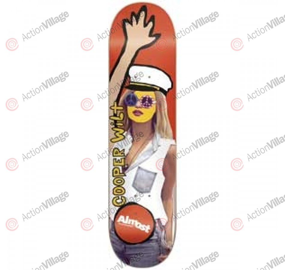 Almost Baby Doll R8 Cooper Wilt - 8.0 - Skateboard Deck