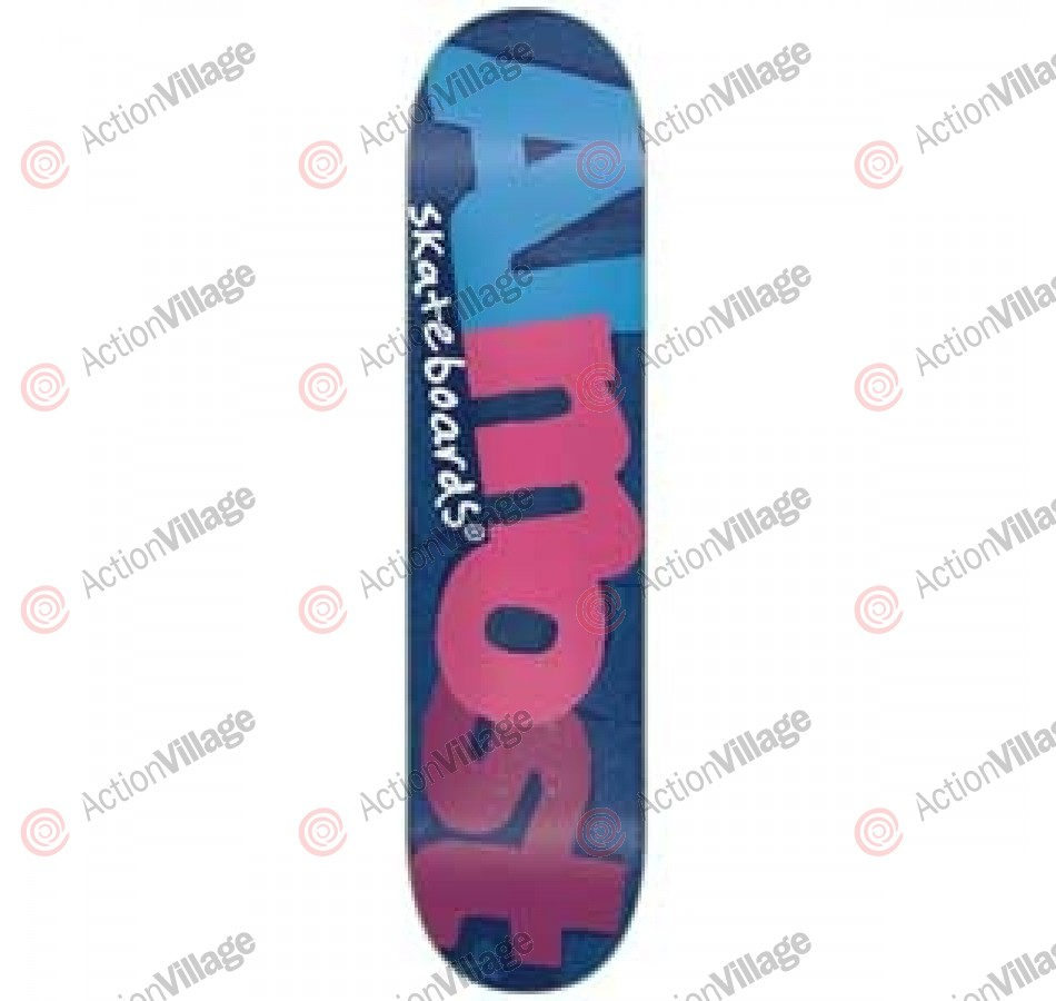Almost Pop Art SG+ - Navy - 7.75 - Skateboard Deck