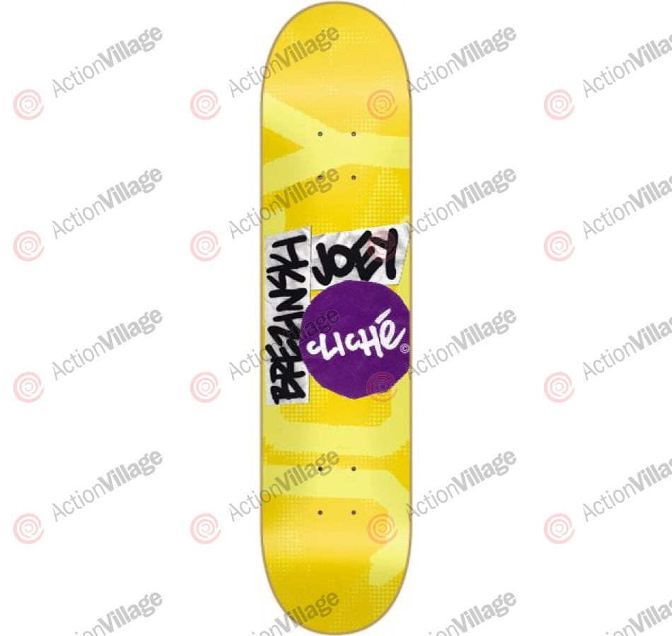 Cliche Circle Cut R7 - Joey Brezinski - 7.8 - Skateboard Deck