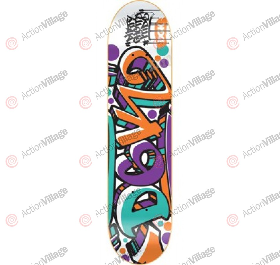 DGK Crazed White - 8.06 - Skateboard Deck