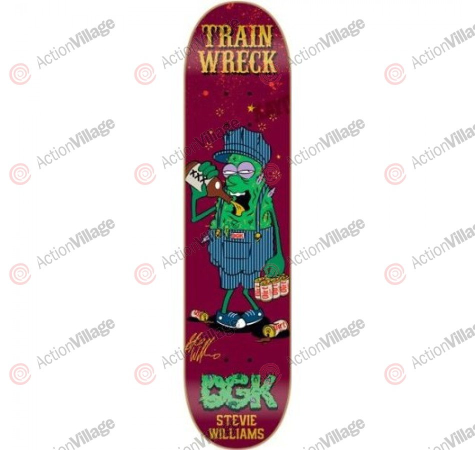 DGK Williams Flava - 7.8 - Skateboard Deck