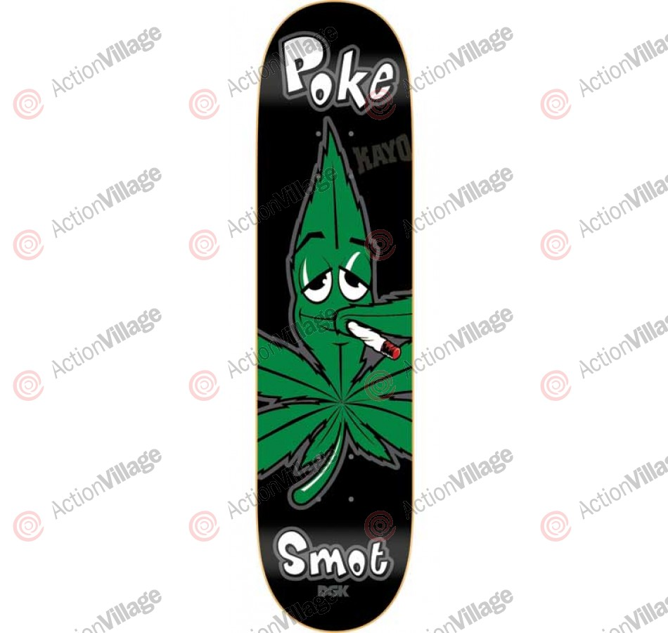 DGK Poke Smot - Green/Black - 8.38 - Skateboard Deck