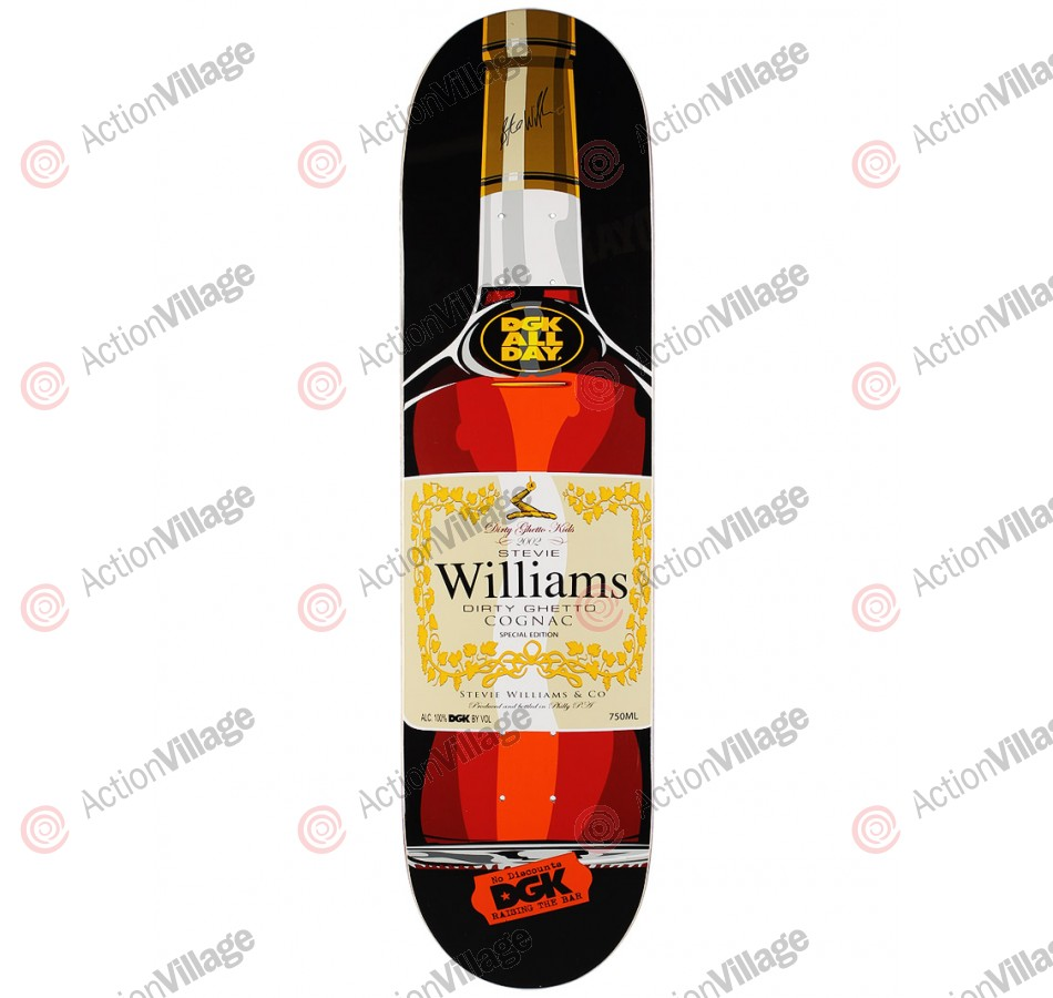 DGK Williams Faded - Black/Orange - 8.1 - Skateboard Deck