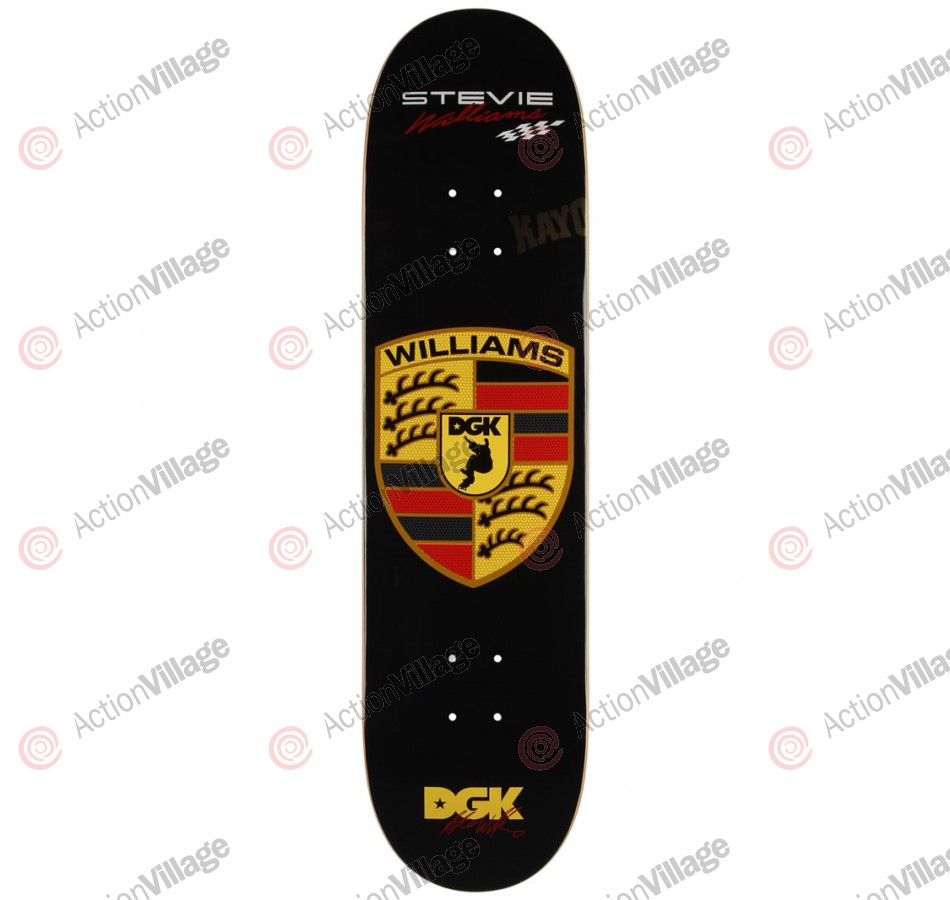 DGK Williams Turbo - Black - 8.06 - Skateboard Deck