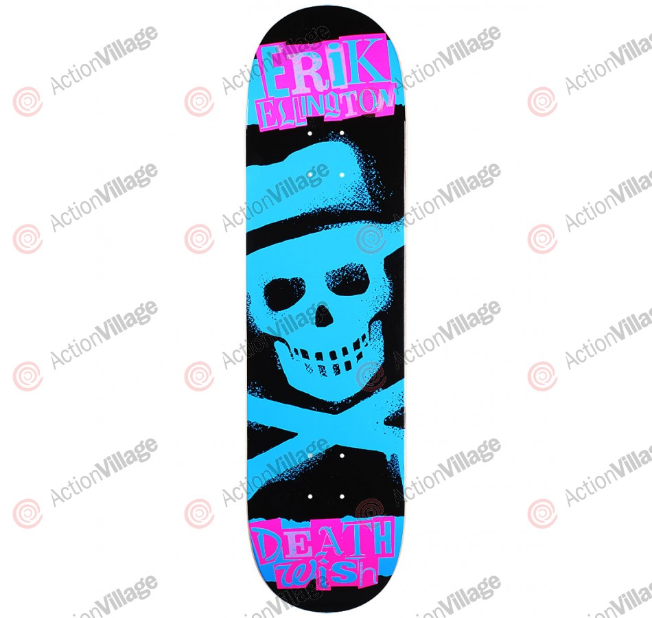 Deathwish Ellington Ransom - Blue - 8.25 - Skateboard Deck