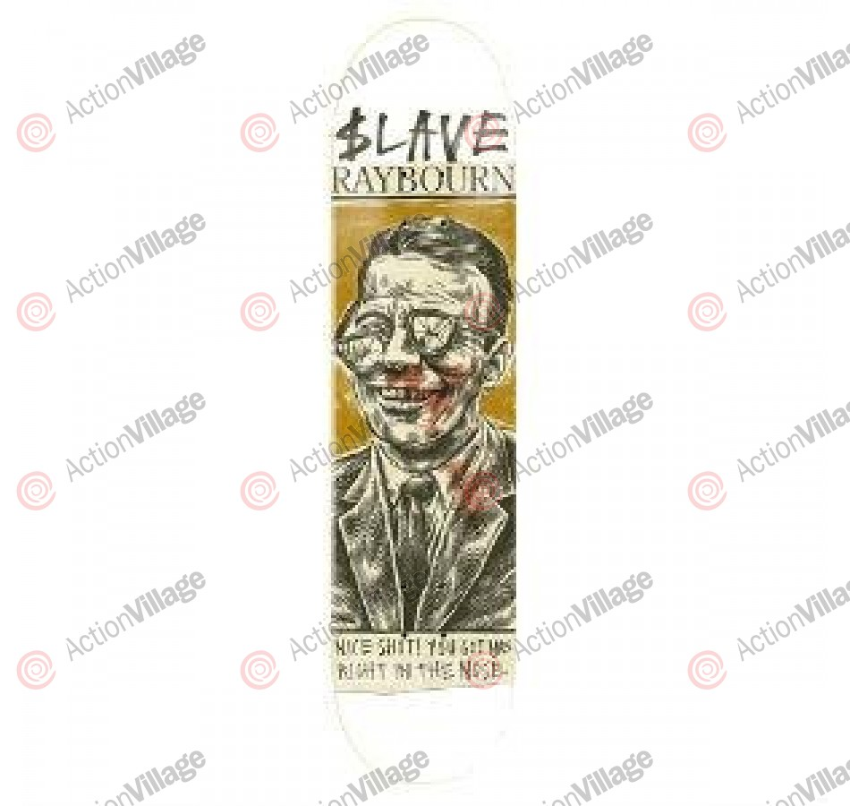 Slave Raybourn Positive - Green - 8.5 - Skateboard Deck