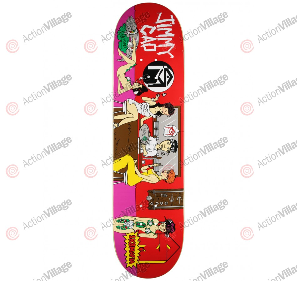 Sk8Mafia Cao Krust - Red/Purple -  8.19 - Skateboard Deck