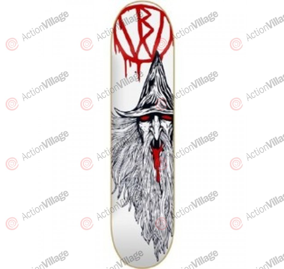 Blood Wizard Deck - Wizard - 8 - Skateboard Deck