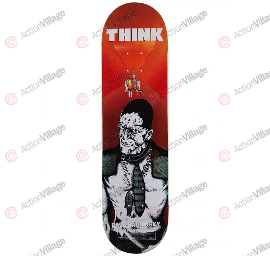 Think Pro Deck The Hills Bachinsky - 8.125 - Skateboard Deck