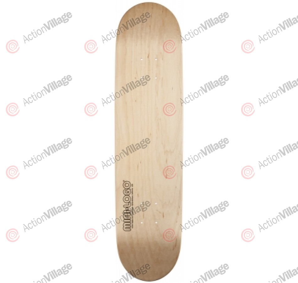 Mini Logo - Natural - 7.5 - Skateboard Deck