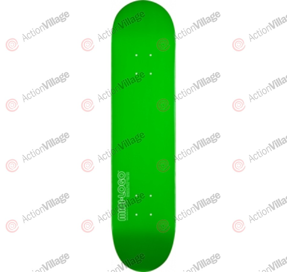 Mini Logo - Green - 7.625 - Skateboard Deck