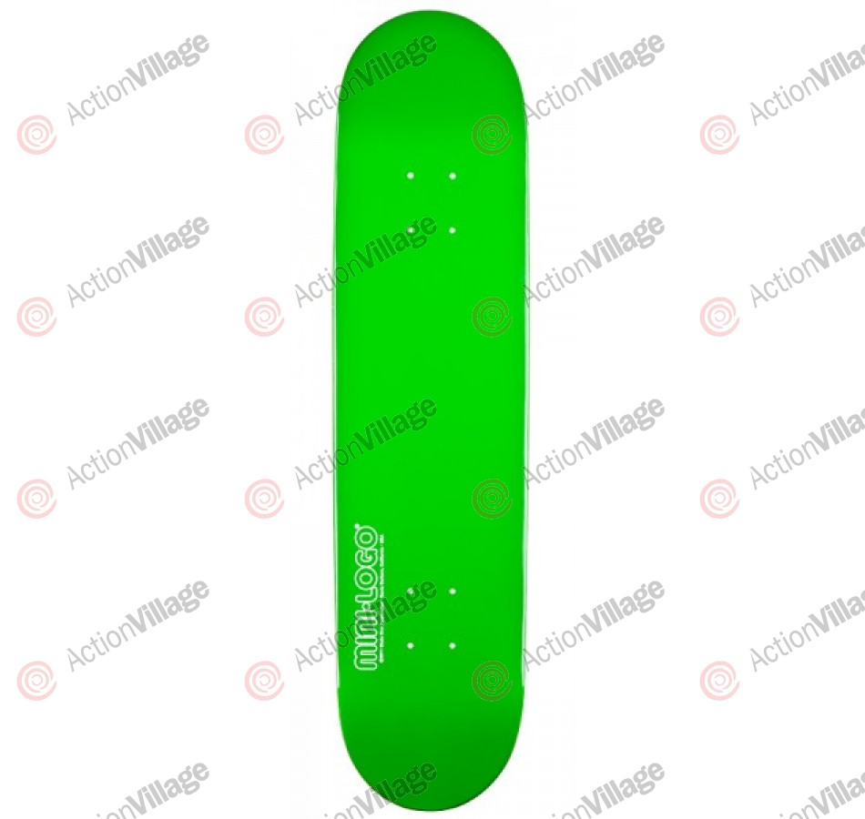 Mini Logo - Green - 8.5 - Skateboard Deck