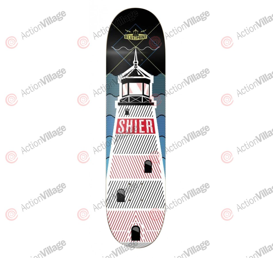 Blueprint Skateboards Shier By Land Sea & Air - 8.25 - Skateboard Deck