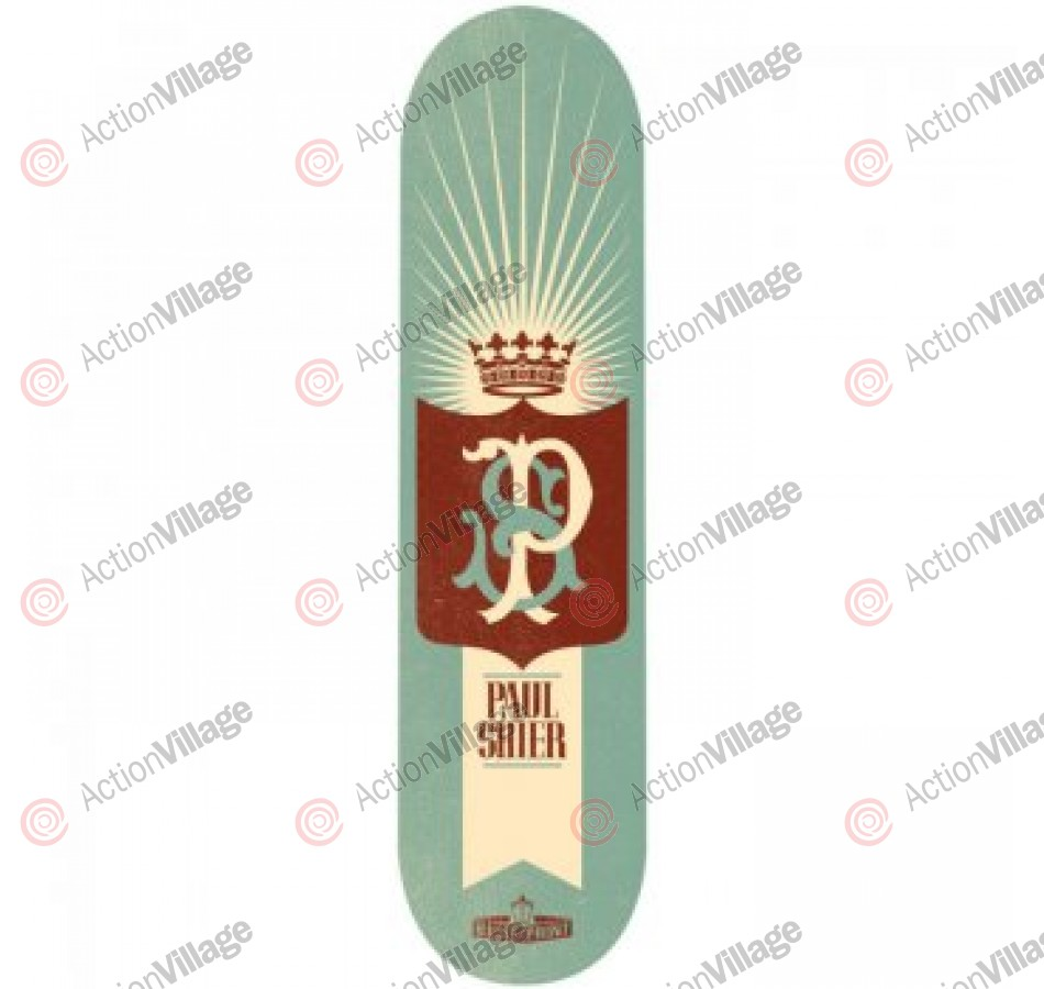 Blueprint Skateboards Monogram Shier - Black - 8.25 - Skateboard Deck