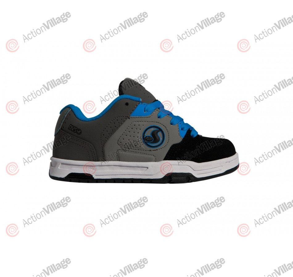 DVS Havoc - Kids - Black/Grey Nubuck - Skateboard Shoes