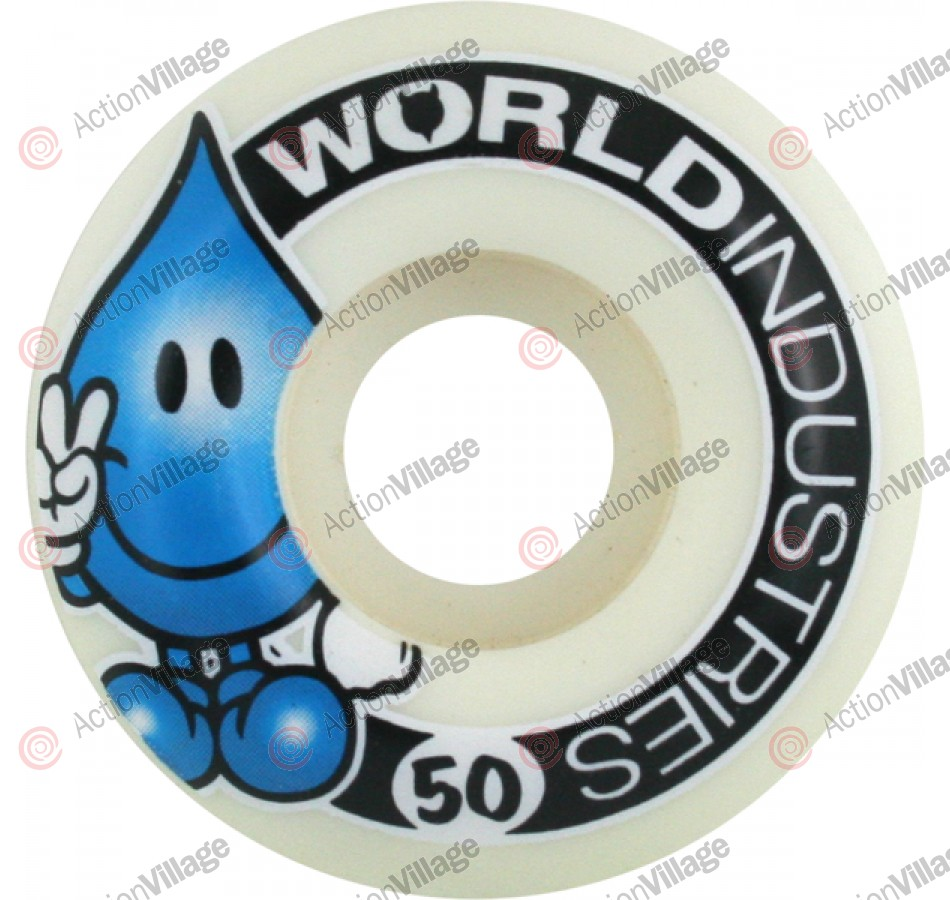 World Industries Wet Willy Corporate 50mm, Set of 4 - Skateboard Wheels