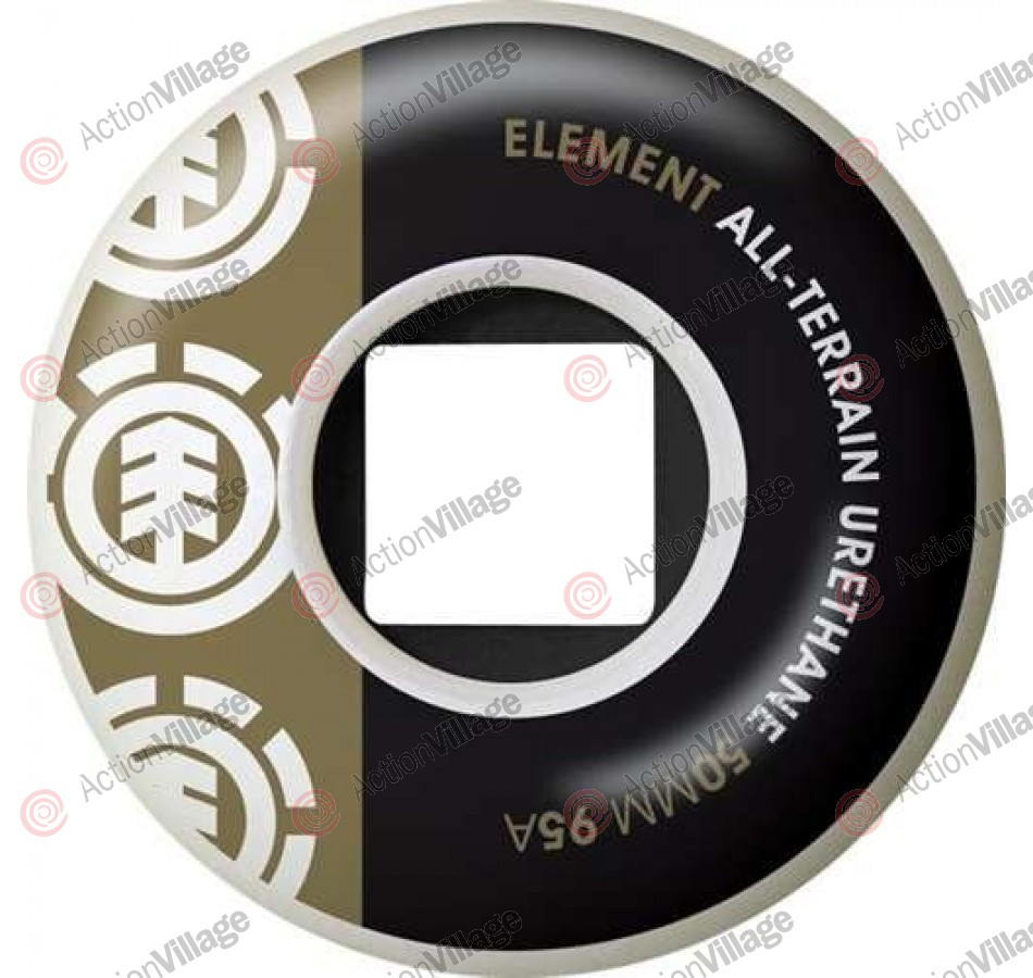 Element Section CORE 50mm - White/Black/Gold - Skateboard Wheels