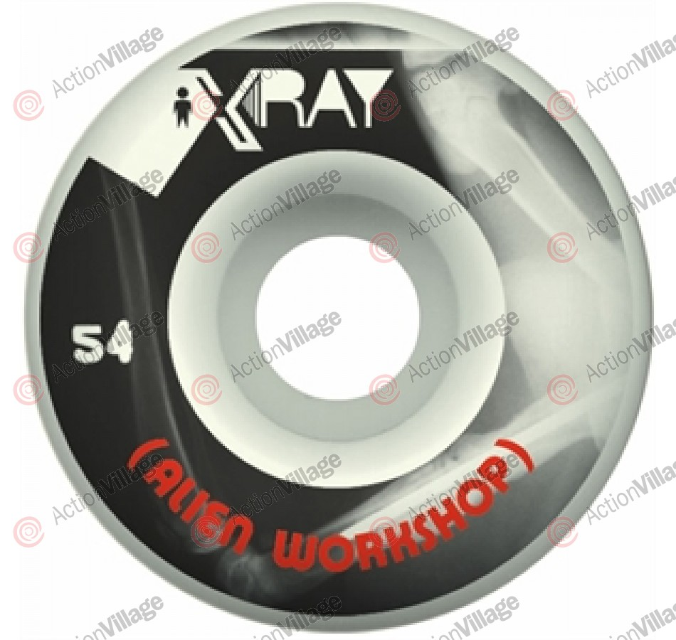 Alien Workshop X Ray - Black/White - 54mm - Skateboard Wheels