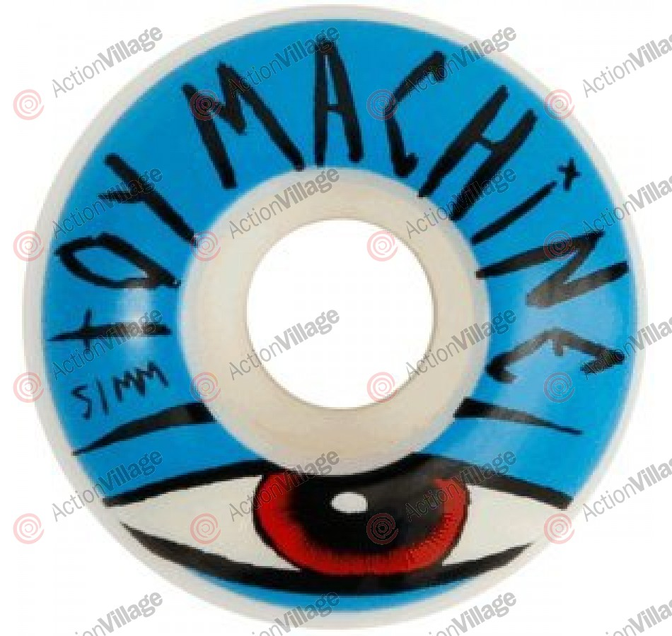 Toy Machine Sect Eye Blue 51mm - Blue - Skateboard Wheels
