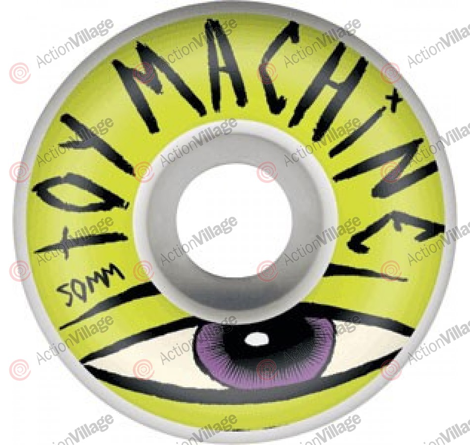 Toy Machine Sect Eye Lime 50mm - Green - Skateboard Wheels