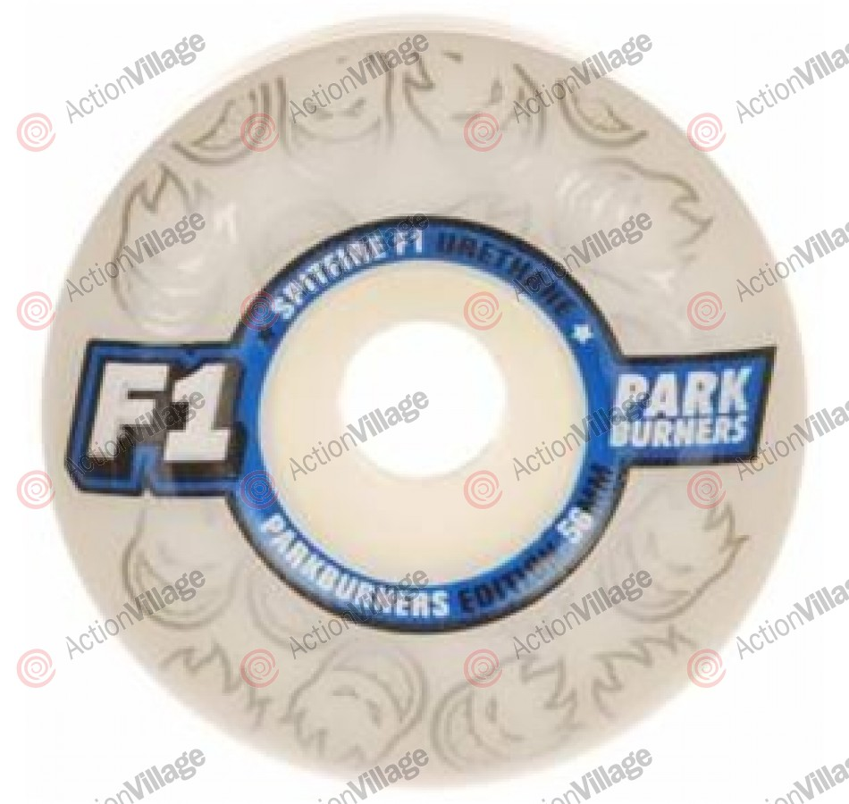 Spitfire F1 Park Burner 52mm - White - Skateboard Wheels