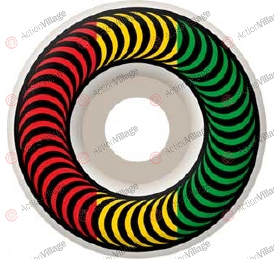 Spitfire Wheels Classic Rasta - 53mm - Skateboard Wheels