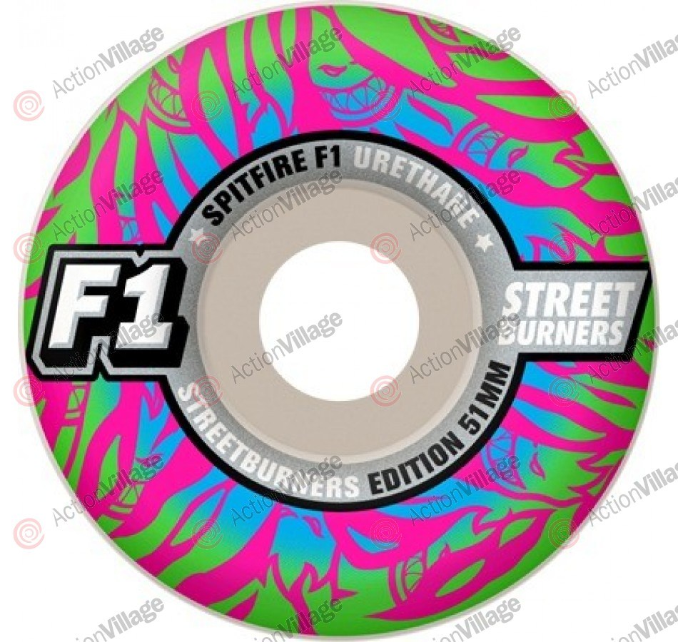 Spitfire F1 Streetburners Animal Attack Tiger - 53mm - Skateboard Wheels