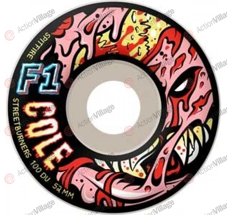 Spitfire F1 Streetburners Cole Z.A. - 52mm - Skateboard Wheels