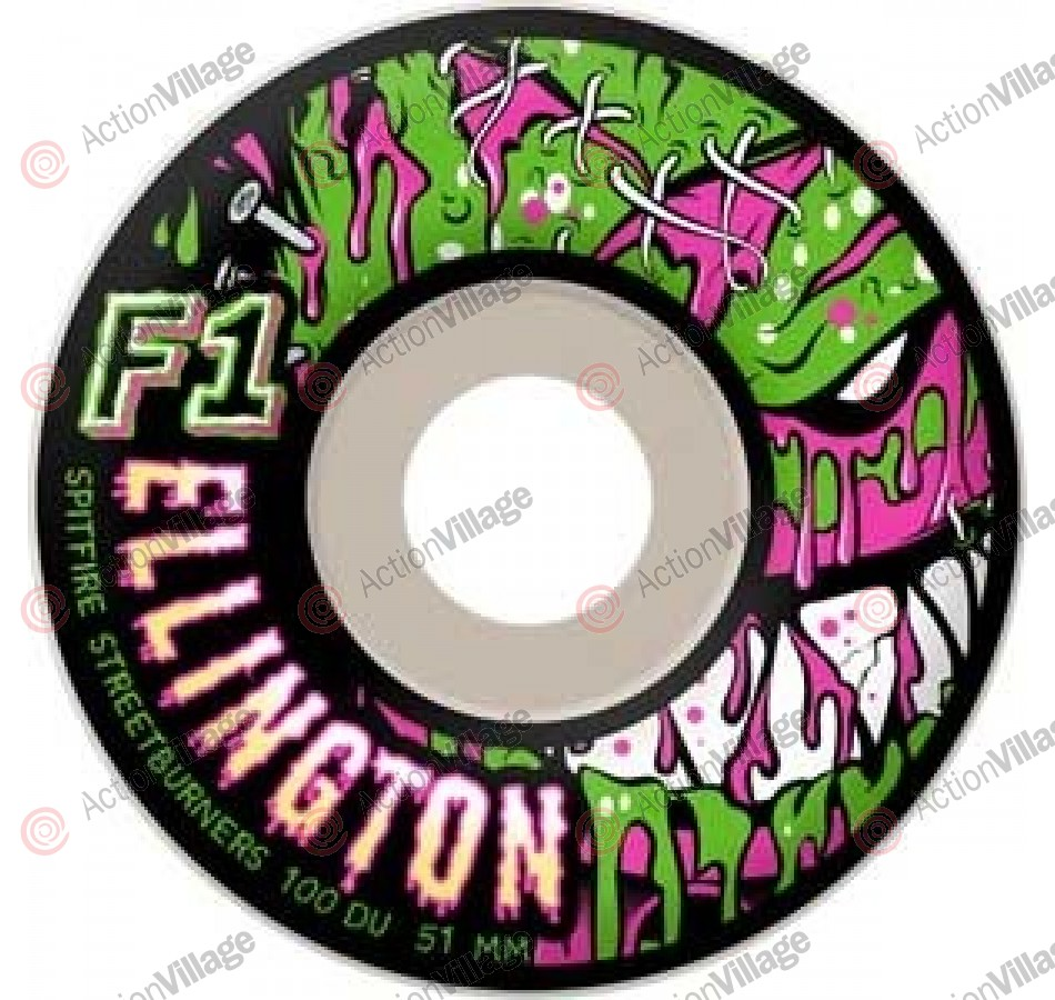 Spitfire F1 Streetburners Ellington Z.A. - 53mm - Skateboard Wheels