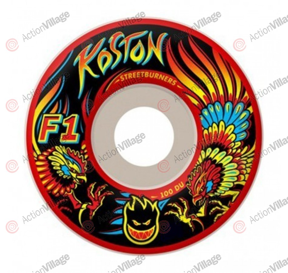 Spitfire F1 Streetburners Koston Kockfight - 51mm - Skateboard Wheels