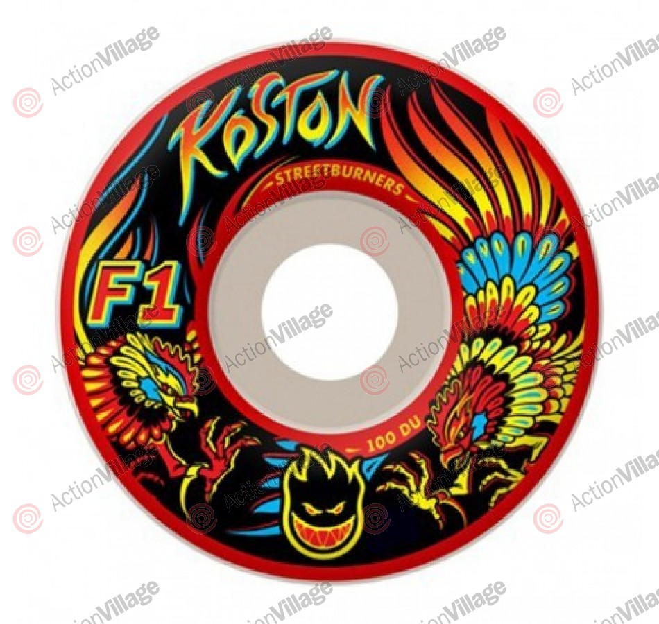 Spitfire F1 Streetburners Koston Kockfight - 53mm - Skateboard Wheels