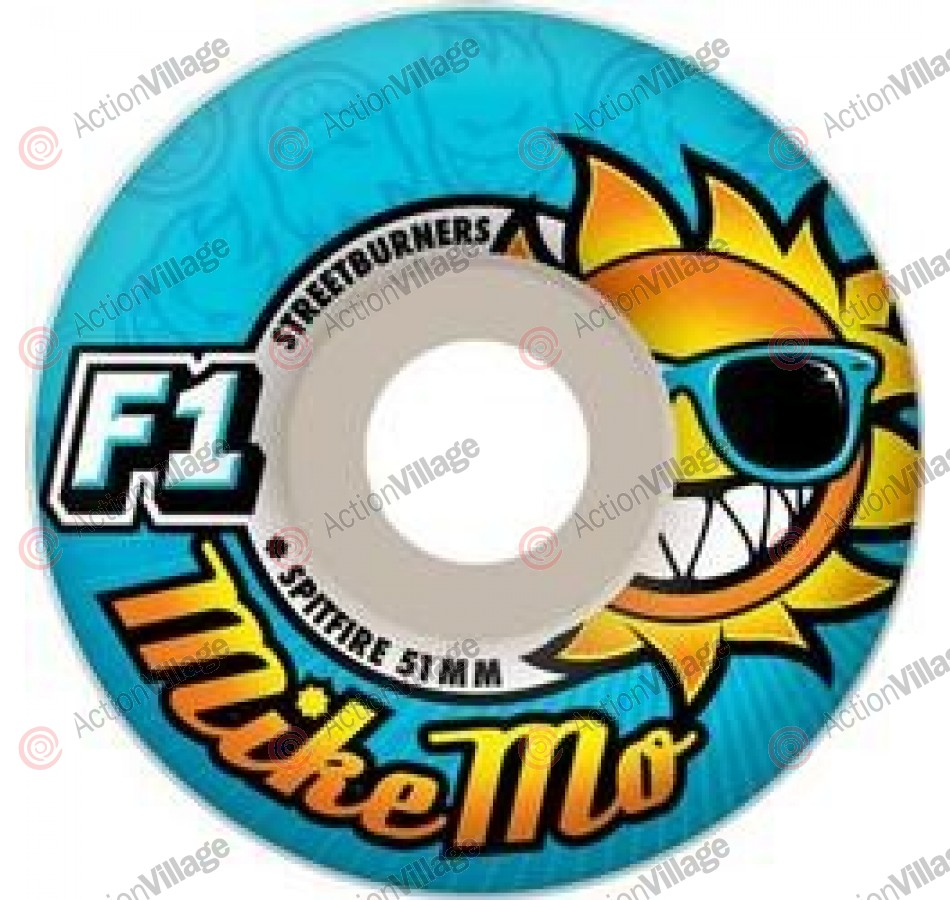 Spitfire Wheels F1 Streetburners Mike Mo Sunhate - 52mm - Skateboard Wheels