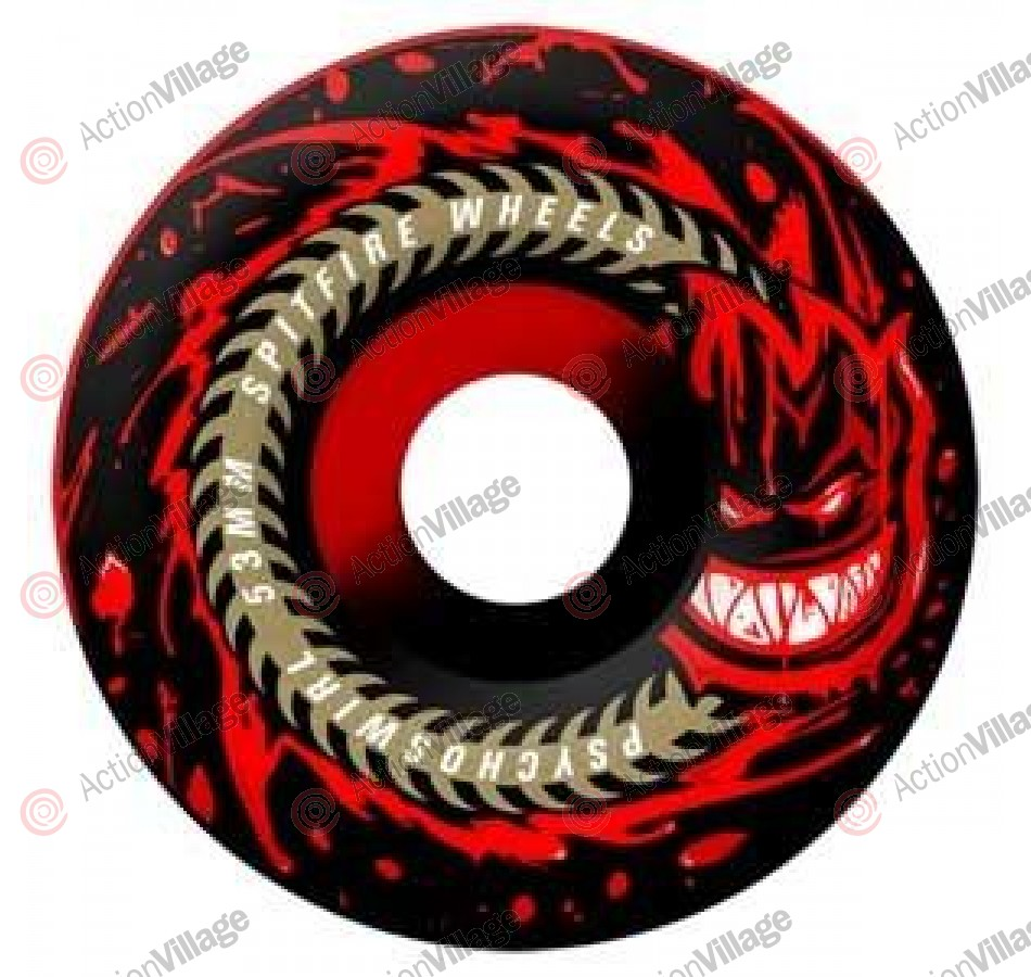 Spitfire Wheels Psychoswirl 50 50 - 53mm - Skateboard Wheels
