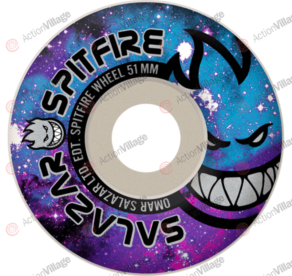 Spitfire Wheels Salazar Space Burn - 52mm - Skateboard Wheels