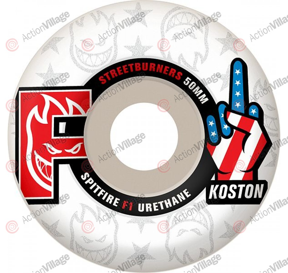Spitfire Wheels F1SB Koston F-Off - 54mm - Skateboard Wheels