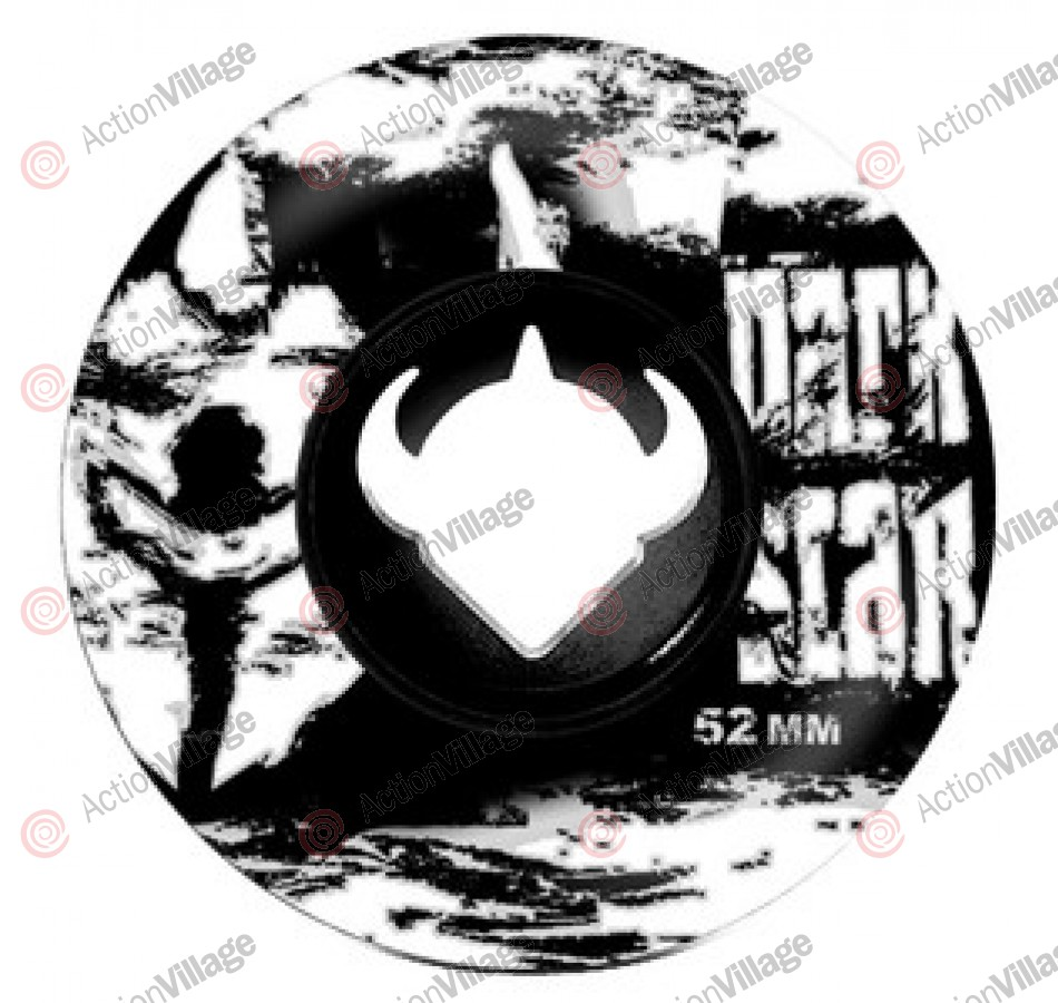 Darkstar Delusion Master Urethane - Black/Silver - 52mm - Skateboard Wheels