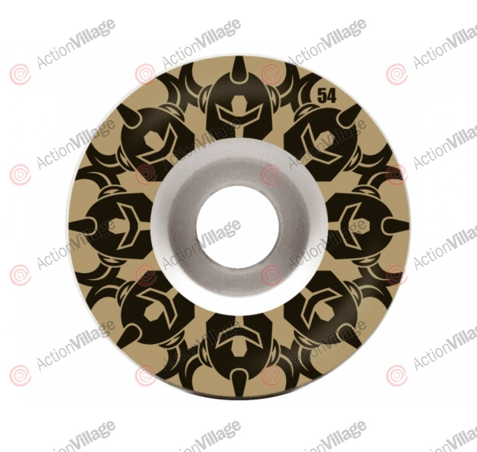 Darkstar Repeat Price Knight - White/Gold - 54mm - Skateboard Wheels