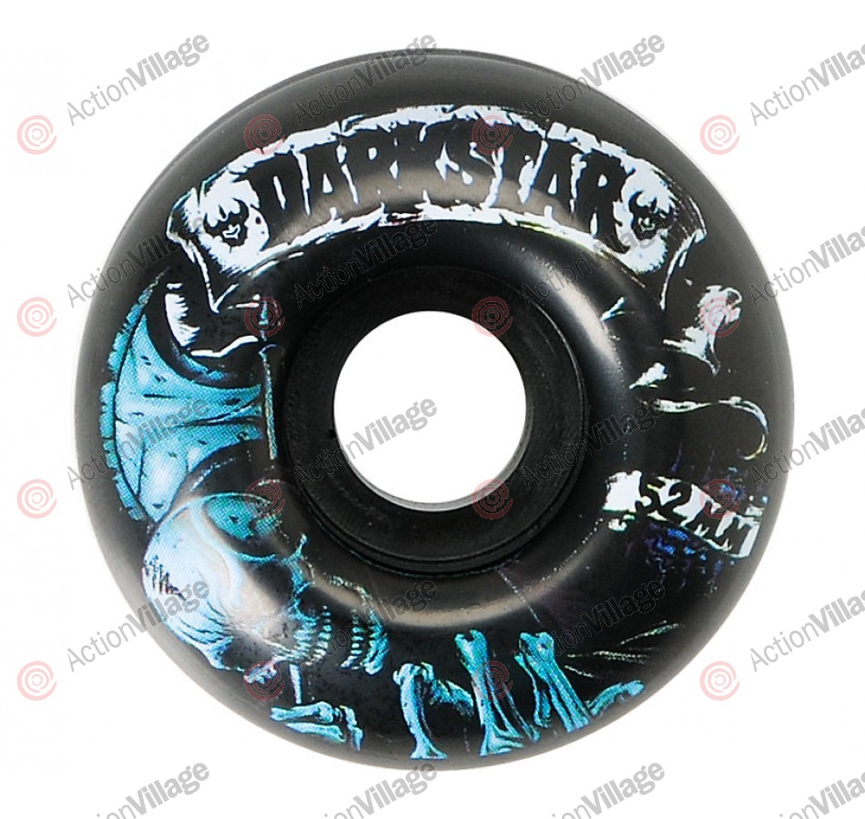 Darkstar Death Street Formula - Black - 52mm - Skateboard Wheels