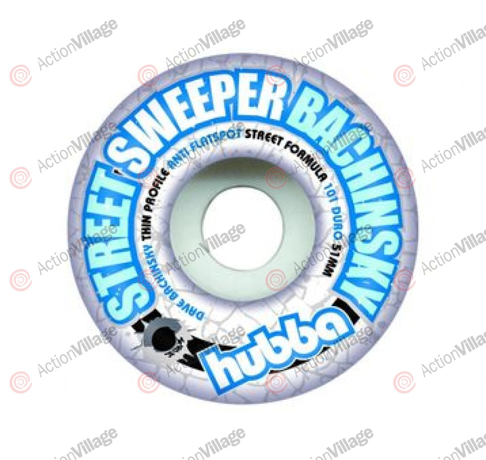Hubba Wheels Bachinsky Streetsweeper - 51mm - Skateboard Wheels