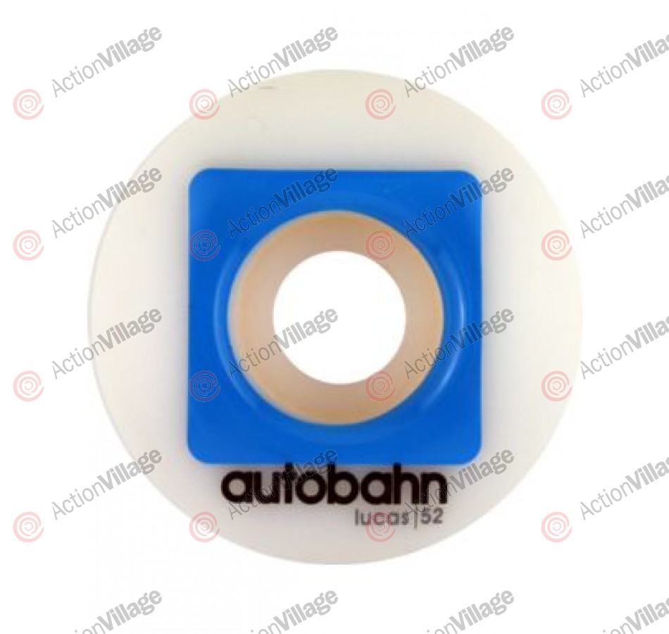 Autobahn Puig Pro Stock 52mm - White - Skateboard Wheels