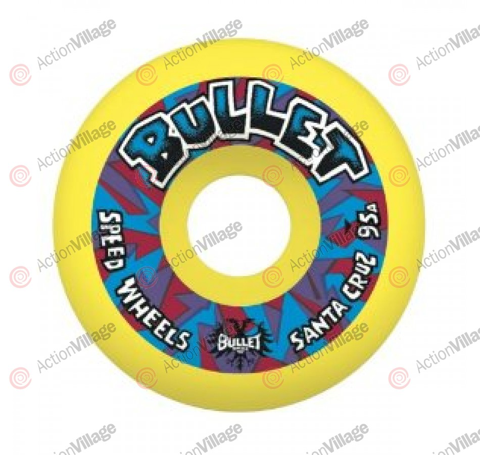 Bullet 54mm Mini Church Glass Retro Yellow 95a  - Skateboard Wheels