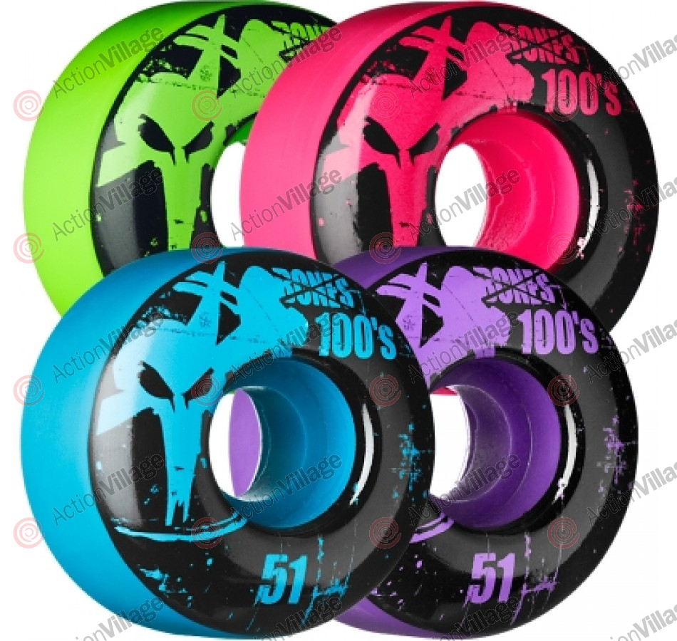 Bones O.G. Formula 100 - 51mm - Assorted Colors - Skateboard Wheels