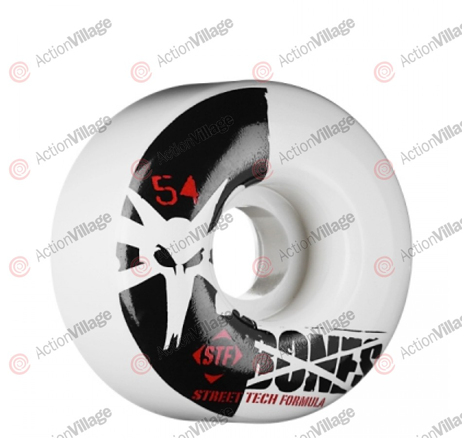 Bones Street Tech Formula STF V4 - 54mm - White - Skateboard Wheels