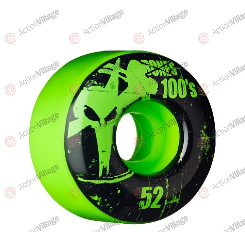 Bones OG. Formula V1 - Green - 52mm - Skateboard Wheels